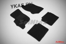 Коврики текстильн. Mitsubishi Galant IX 2003-2012г.  /компл.4шт./осн.резин./ LUX