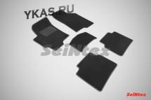 Коврики текстильн. Hyundai Elantra XD Тагаз c 2008г-  /компл.5шт./осн.резин./ LUX