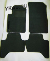 Коврики текстильн. Mitsubishi L200 III 1999-2012г./компл.5шт./осн.резин.