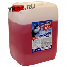 """Антифриз  """"Полярный круг""""  G12 (красный) 20 кг"""