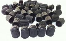 Колпачки на нипель пластик Черный (1000шт)