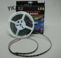 Светодиодная лента 12V 300SMD (3528) IP65 6000К (катушка 5м) черная основа
