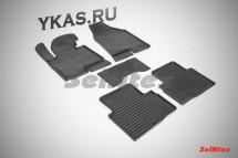 Коврики резиновые   Hyundai ix 35 2010-2015г.//Kia Sportage 2010-2015г. СЕТКА