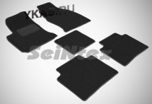 Коврики текстильн. Hyundai Matrix 2001-2010г. /компл.5шт./осн.резин./ LUX