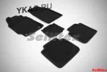 Коврики  Toyota Camry VII  XV50/55  2011-2017г. /компл.5шт./осн.резин./ 3D