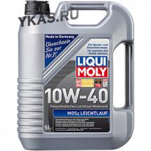 LM П/синтет. моторное масло MoS2- LEICHTLAUF 10W-40, 5л