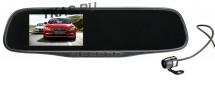 Видеорегистратор-зеркало  SilverStone F1 задняя камера работает как парктроник Full HD