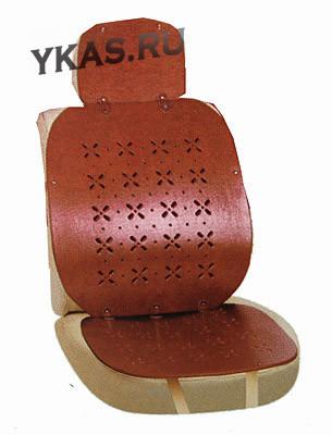 Накидки на сид.  AG-24755 BRAUN кожа