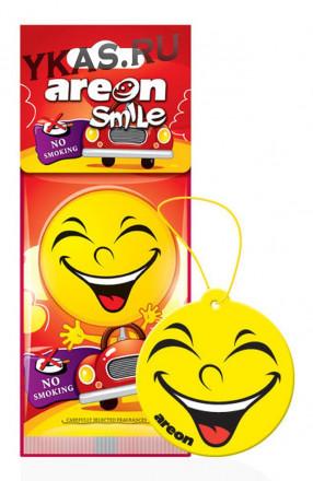 "Осв.возд. Areon Сухой ""SMILE RING""  NO SMOKING"