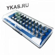Рассухариватель клапанов универсальный, кейс, 8 предметов_53183