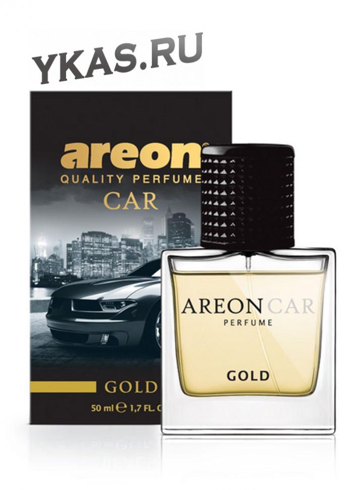 """Осв.возд. Areon CAR PERFUME 50ml. """"Gold""""   спрей"""