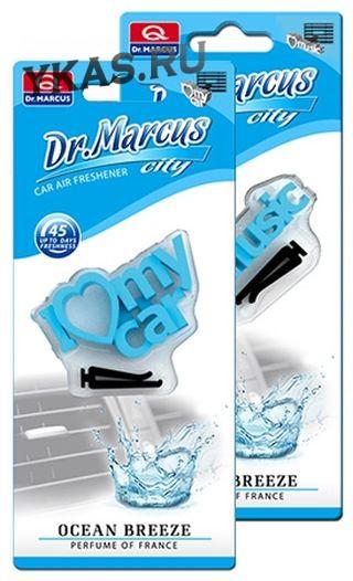 Осв.воздуха DrMarcus на дефлектор  CITY 3D  Ocean Breeze