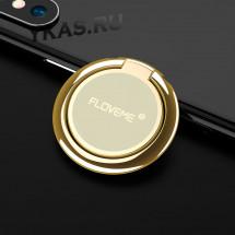 Кольцо-держатель для телефона Floveme Золото (крутиться на 360*)