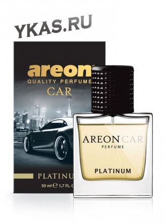 "Осв.возд. Areon CAR PERFUME 50ml. ""Platinum""   спрей"