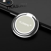 Кольцо-держатель для телефона Floveme Серебро (крутиться на 360*)