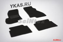 Коврики текстильн. Hyundai Santa Fe Classic 2006-2012г. /компл.4шт./осн.резин./ LUX