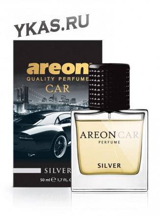 """Осв.возд. Areon CAR PERFUME 50ml. """"Silver""""   спрей"""