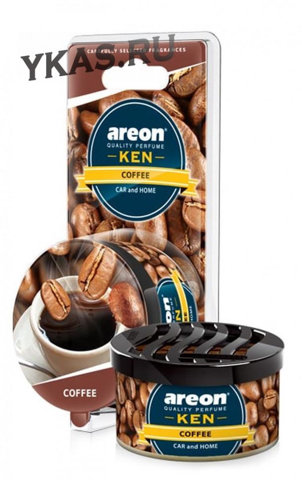 Осв.возд. Areon KEN  Coffee