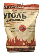 """Уголь древесный  """"ZaReva""""   10 литров"""