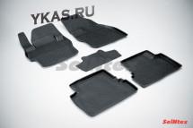 Коврики резиновые   Mazda 3 2009-2013г.  БОРТ