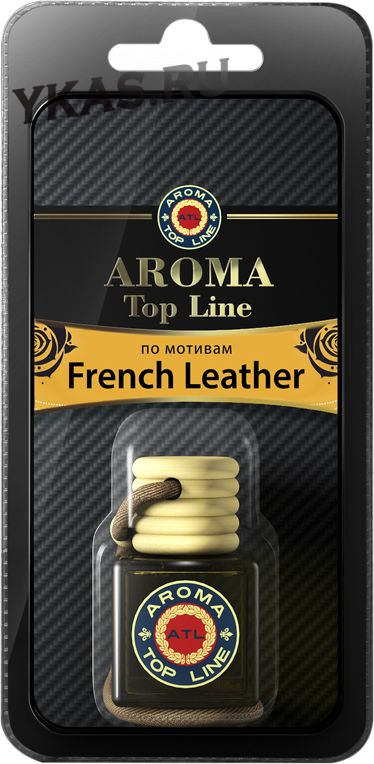 Осв.возд.  AROMA  Topline  Флакон Селективная серия  s08   Memo French Leather