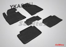Коврики резиновые   Hyundai i 30 II 2012-2017г.  БОРТ (Kia ceed 2012)