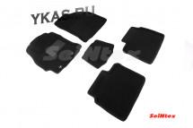 Коврики текстильн. Toyota Corolla с 2013г-  /компл.5шт./осн.резин./ LUX