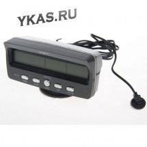 Авточасы  VST 7045 V LCD-дисплей с синей подсветкой, выносн датчик наружной температуры, датчик вн