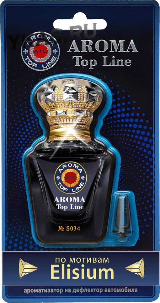 Осв.возд.  AROMA  Topline  на дефлектор Селективная серия s034   ROJA Elysium Pour Homme