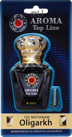 Осв.возд.  AROMA  Topline  на дефлектор Селективная серия s035   Oligarch