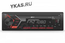 Автомагн.  ACV-814BR  (красный)  USB/SD/FM ресивер Bluetooth