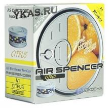 Осв.воздуха Eikosha Spencer  Citrus (смесь цитрусовых: мандарина, апельсина и ванили)