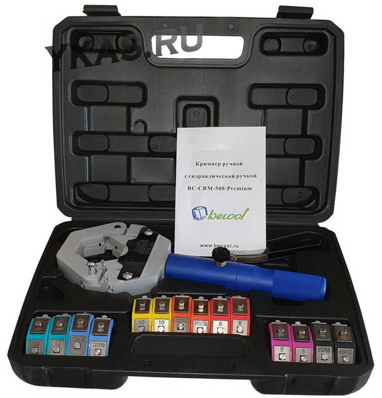 КРИМПЕР BC-CRM-500-Premium ручной c гидравлической ручкой_50789