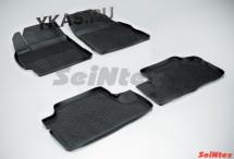 Коврики резиновые   Toyota Corolla X 2007-2012г./Auris 2007-2012г.  БОРТ