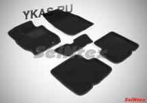 Коврики  Nissan Almera IV с 2013г-  /компл.5шт./осн.резин./ 3D