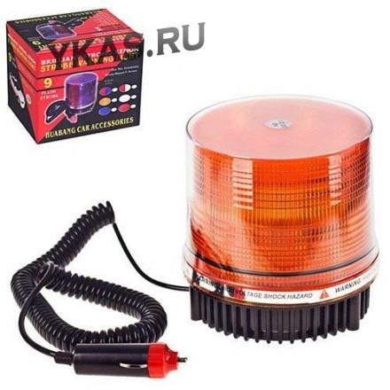 Мигалка светодиодная желтая HB-801F Y LED 24V