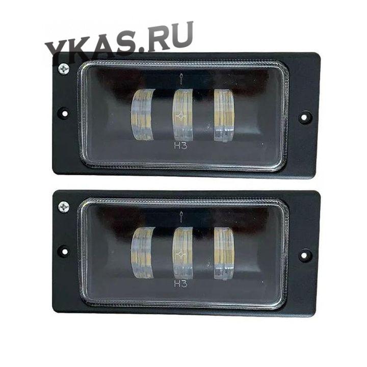 Фары  доп.модельные LADA 2110 LED  (компл.2шт)