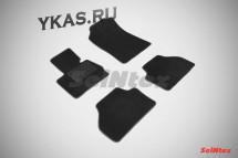 Коврики текстильн. BMW X3  F25 c 2010г-  /компл.4шт./осн.резин./  LUX