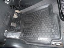 Коврики резиновые   Mitsubishi LANCER IX 2003-2007г. тэп (корыто)