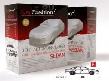 """Тент автом.  CF """"CLASSIC  F"""" SD """"XL"""", серебр. 490см (молния двери водит.,окна вентил.,ремни  крепл)"""