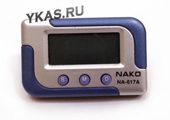 Авточасы  NAKO  NA-617  часы+секундомер