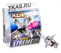 Лампа PULSO  12V  H4  P43T  60/55w  +50% X-treme Vision  (к-т 2шт)