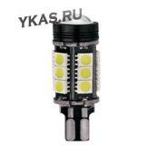 SOLAR  Свет-од  12V  T10 16 SMD (5050) W5W  W2.1x9.5d WHITE