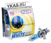 Лампа PULSO  24V  H4  P43T  75/70w  SUPER WHITE  (к-т 2шт)