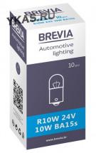 Автолампа BREVIA  24V  R10W  10W BA15s CP (упак.10шт)
