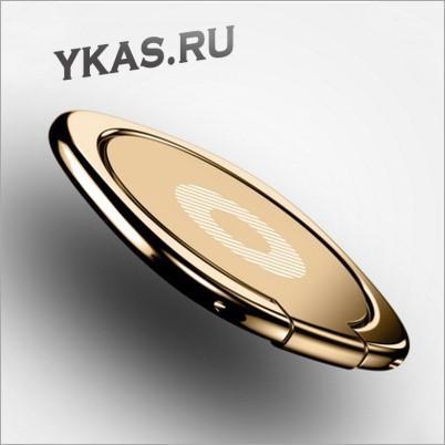 Кольцо-диск для телефона Золото