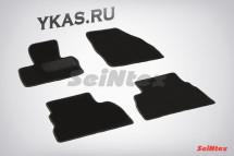 Коврики текстильн. Honda Civic VIII HB 2006-2012г. /компл.4шт./осн.резин./ LUX