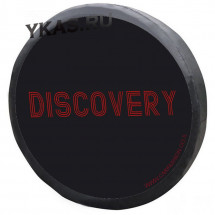 Чехол на запаску «DISCOVERY», Черный/Красный, L  (d 73-79см)