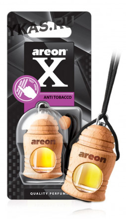 "Осв.возд. Areon FRESCO  X-VERSION ""бутылочка в дереве"" Anti Tobacco"