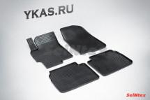 Коврики резиновые   Mazda 6 2007-2012г.  СЕТКА